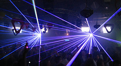 Ministry Of Sound - Laser Light Show with DJs Deep Dish, photo By Anirudh Koul
