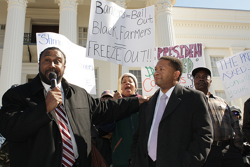 Recent National Black Farmers Association rally in Montgomery, Ala.