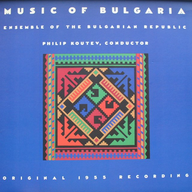 Music of Bulgaria LP cover