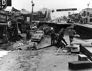 9.0 Earthquake in Anchorage AK, March 27, 1964