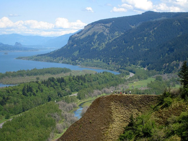 Columbia Gorge from Crown Point