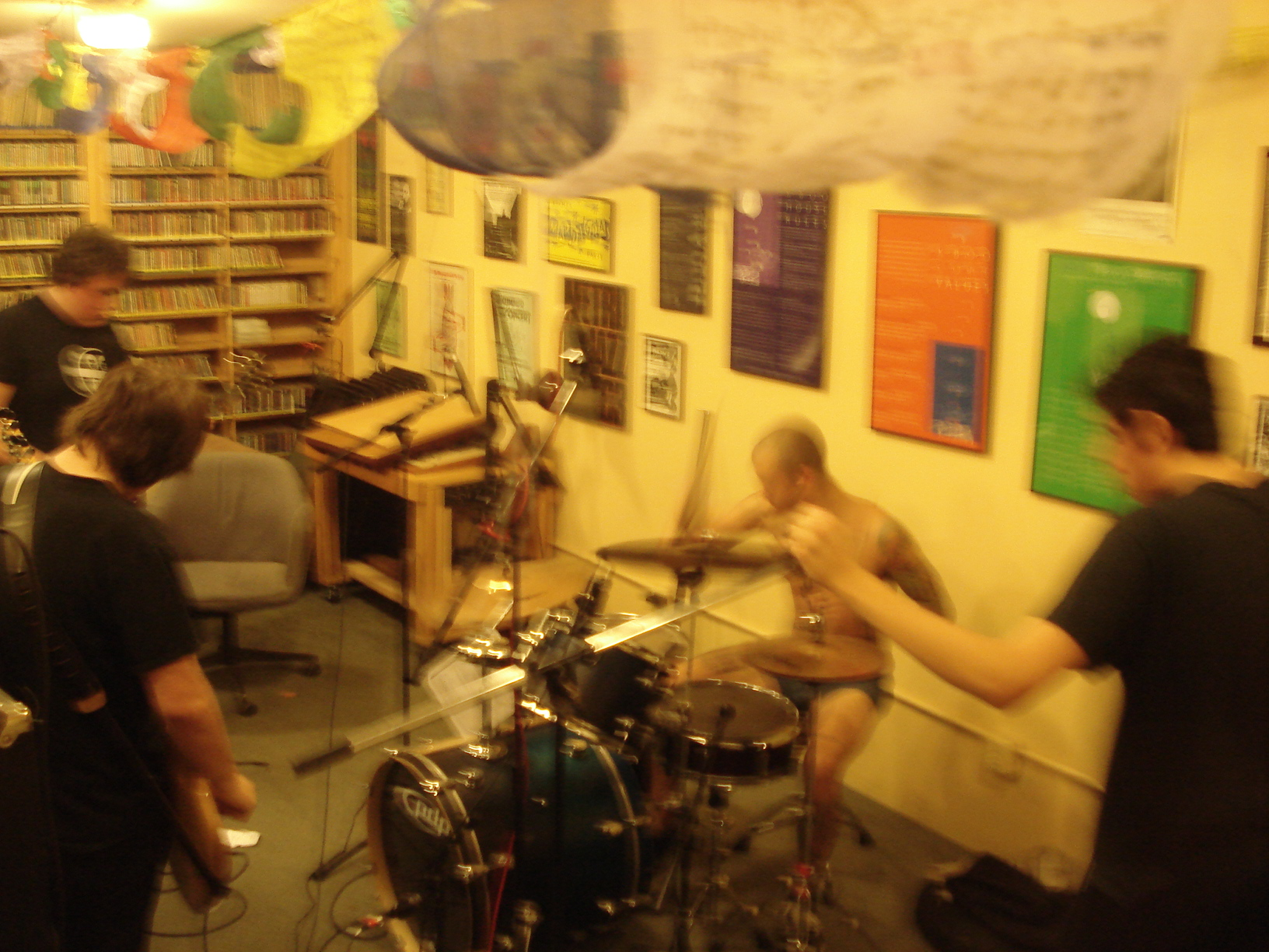 White Ward at KBOO 1