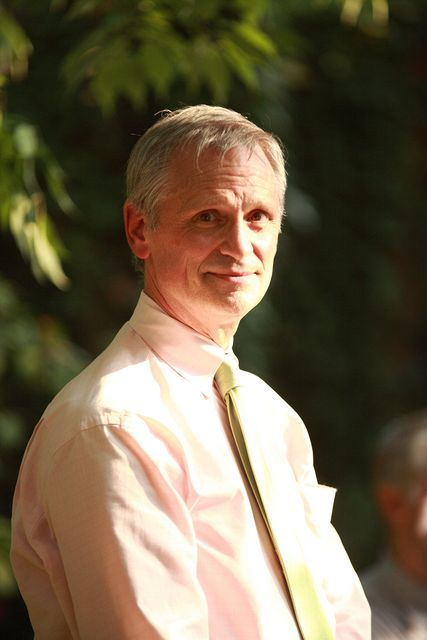 Congressman Earl Blumenauer, without his famous bow tie.