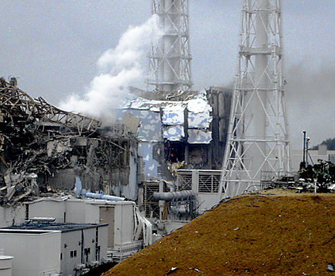 Fukushima reactor complex destroyed