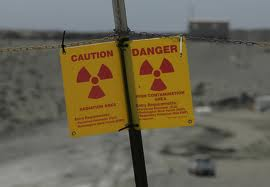 radioactive warning at Hanford