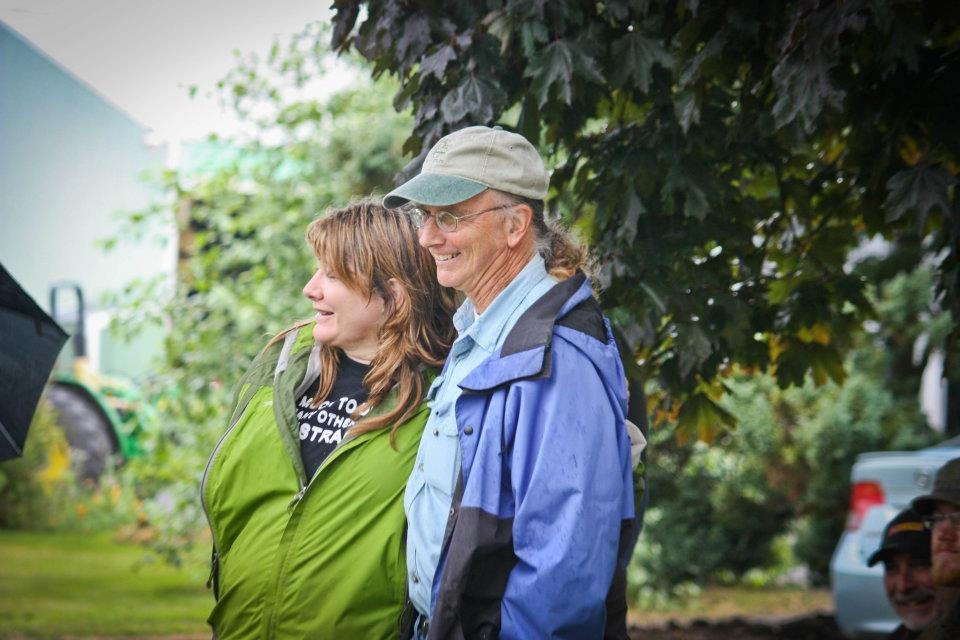 Local Food leaders, Willow Coberly and Harry MacCormack