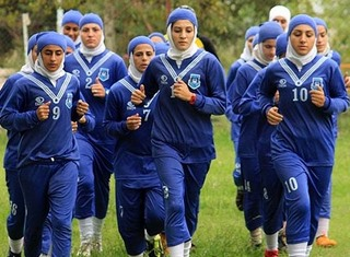 National Iranian Women Soccer Team