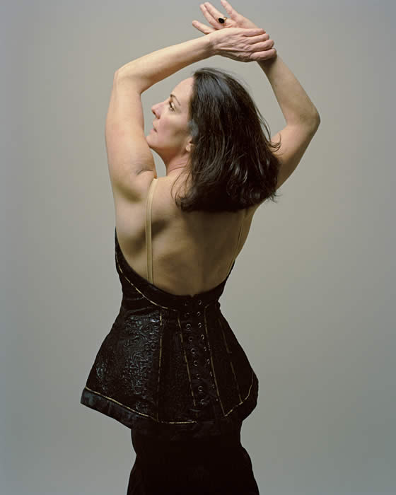 Choreographer Josie Moseley