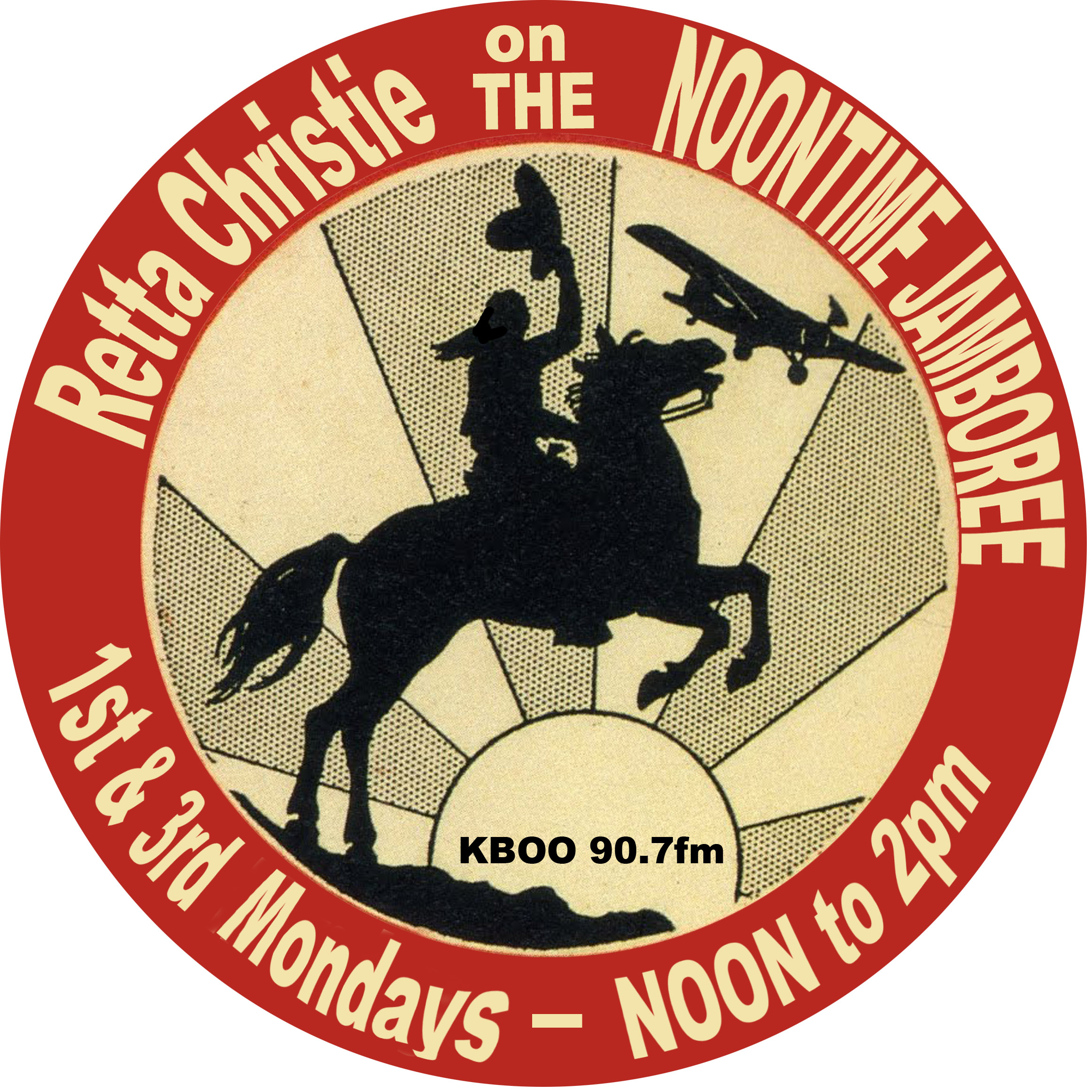 The Noontime Jamboree-Retta Christie Hosts