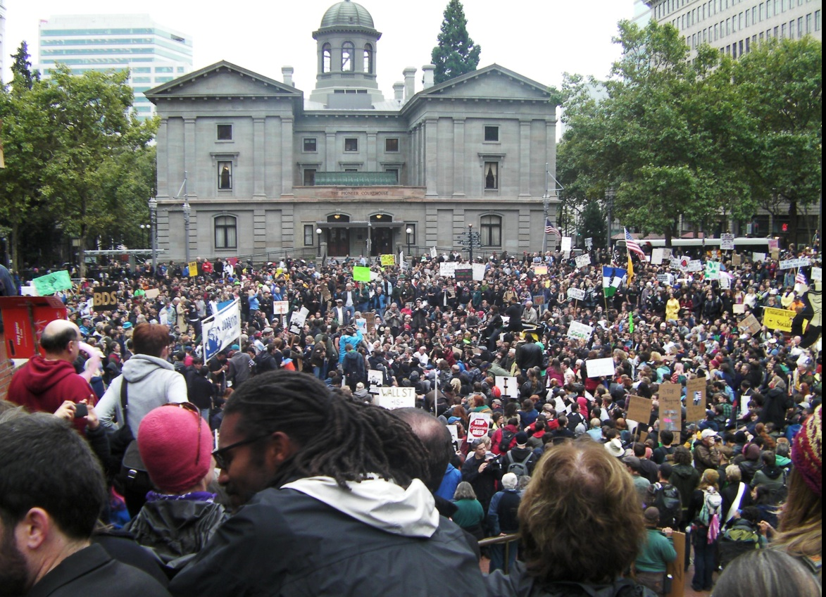 Occupy Portland Pioneer Courthouse