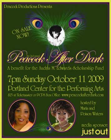Peacock After Dark raises $$ for scholarships.