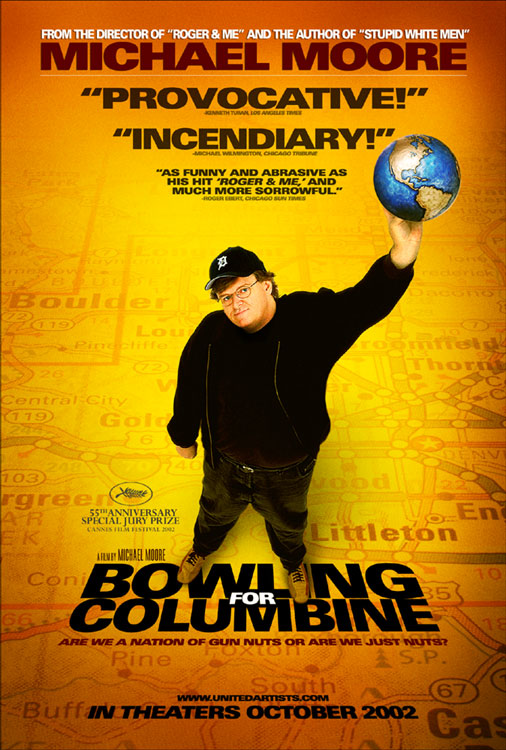 poster for the 2002 movie Bowling for Columbine