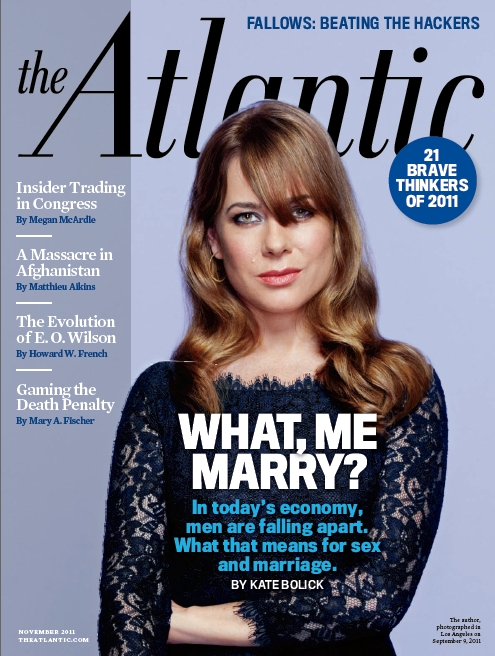 The Atlantic November 2011 cover