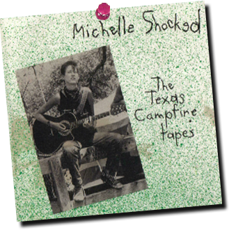 Musician Michelle Shocked sings on