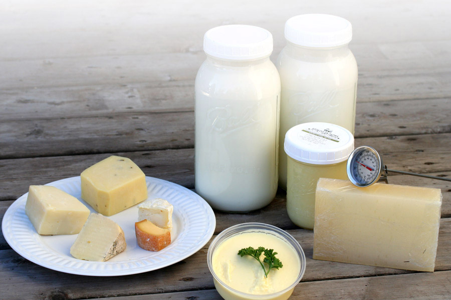 Cheesemaking supplies from Yamhill's Kookoolan Farms.