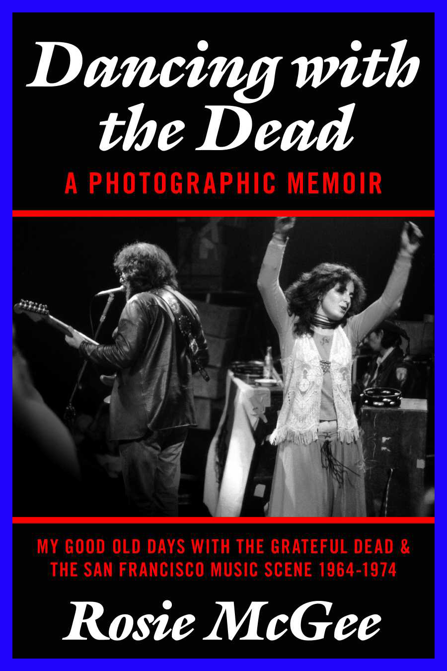 Cover image of Dancing with the Dead by Rosie McGee