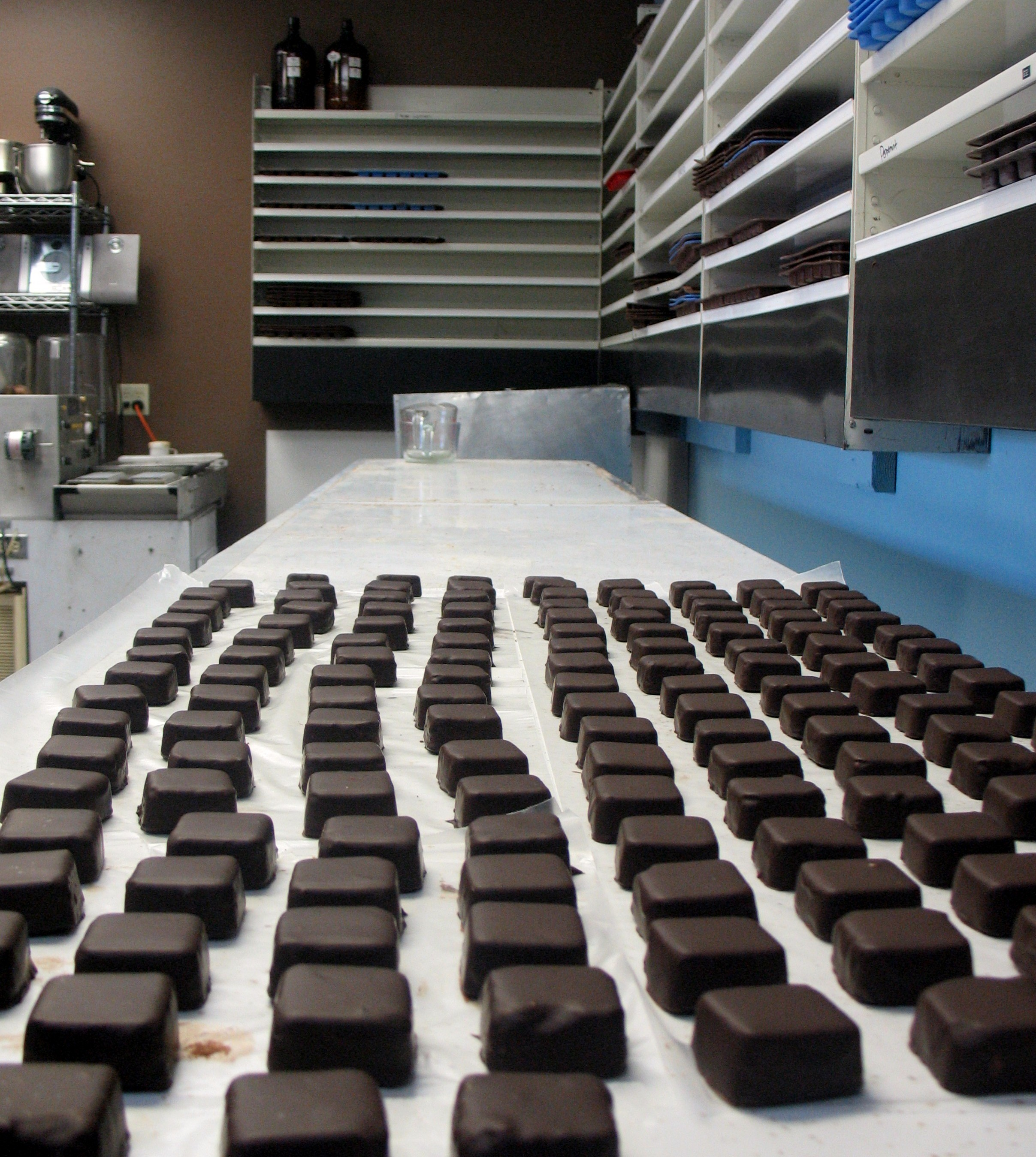 Missionary Chocolates production line
