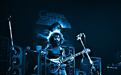 Jerry Garcia in 1973.