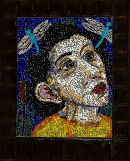 mosaic piece by Mary Josephson