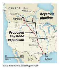 Keystone XL Pipeline route through America's heartland