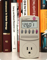 Kill-a-watt energy meter available at libraries