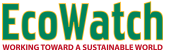 EcoWatch logo: working toward a sustainable world