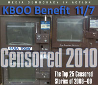 KBOO Project Censored Benefit Nov 7 5 pm