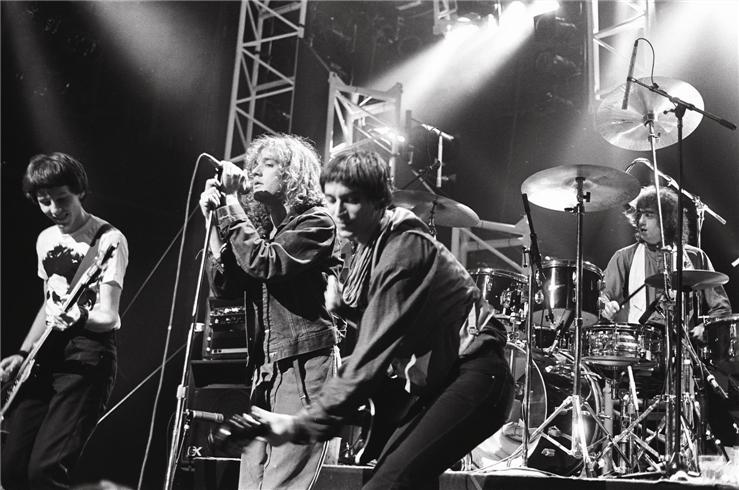 Young R.E.M. in concert