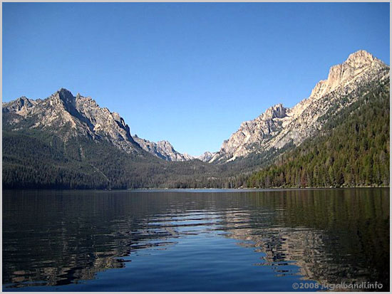 Redfish Lake, Sawtouth Mountains, Idaho