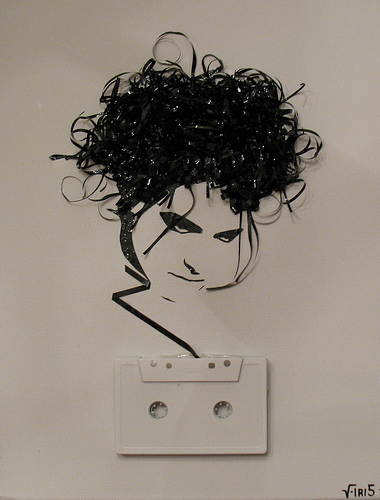 robert smith on cassette by iri5