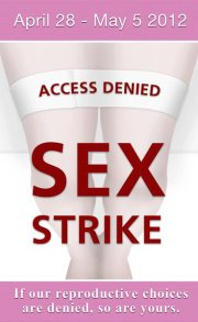 Sex strike April 28