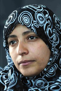 Tawakul Karman, Nobel Peace Prize winner