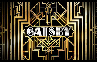 Art deco logo for the movie The Great Gatsby