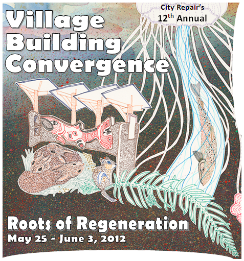 Village Building Convergence Poster