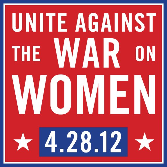 war on women rally april 28