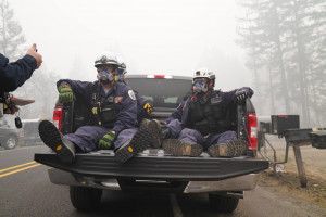 Oregon firefighters (image from FEMA Region 10)