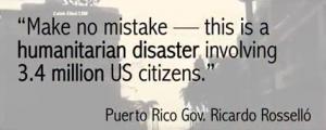 Puerto Rico Humanitarian Disaster