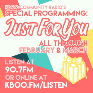 Special Programming: Just for You