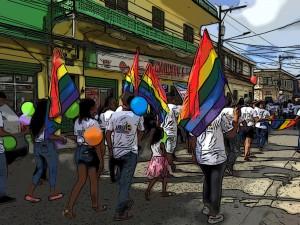 Radioactivist - image from Pride Parade in Honduras