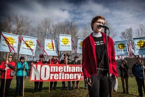 No Methanol Rally Kalama  photo @Rick Rappaport