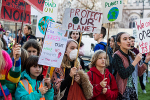 Youth march for a Green New Deal