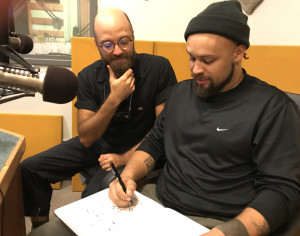 Ezra Clayton Daniels and Ben Passmore join S.W. Conser on Words and Pictures at KBOO Radio