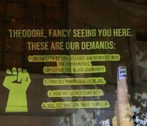 Portland Protest Demands