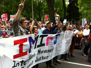 IMIRJ March for Immigrant Rights