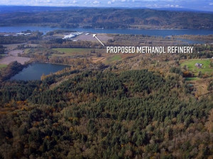 Kalama Methanol Refinery proposed site