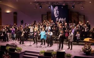 MLK Day celebration 2019 (image from World Arts Foundation)