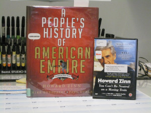 Cartoonist Mike Konopacki talks about A People's History of American Empire, the graphic history that he illustrated in collaboration with historians Howard Zinn and Paul Buhle on Words and Pictures with S.W. Conser on KBOO Radio