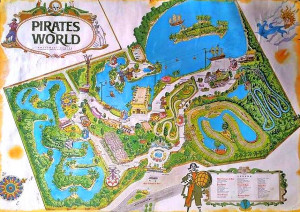 Pirate World Map.From The Big Apple To Pirate S World Kboo