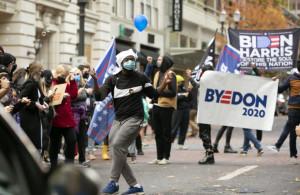 Portland Dances Biden Wins