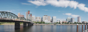 A shot of the Portland skyline (Source: Wikipedia)